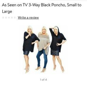 3 way ponchos